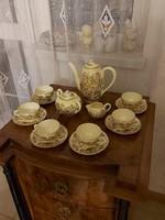 Antik gyönyörű Zsolnay kávés/mokkás készlet!
