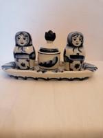Orosz porcelán fűszertartó