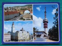Magyarország,Pécs,postatiszta képeslap,1987