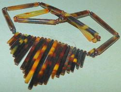 Álomszép Vintage kézműves Nyakék