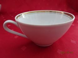 KAHLA GDR német porcelán teáscsésze, átmérője 9,5 cm, magassága 5,5 cm.