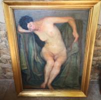 Csejtei Joachim Ferenc - Ülő női akt