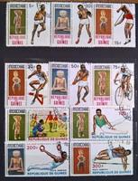 Guinea 1968 Nyári olimpiai játékok Mexikó