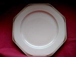 Hutschenreuter art deco tálaló tál, tányér