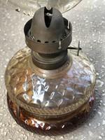 LEÁRAZVA! Asztali lámpa, petróleum,olaj, lámpa, vihar làmpa, régi darab!