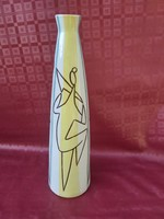 Török János Art deco ritkább váza. 40 cm.