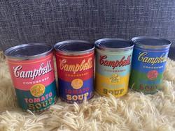 Andy Warhol Campbell's soup 4 db gyűjtői ritkaság