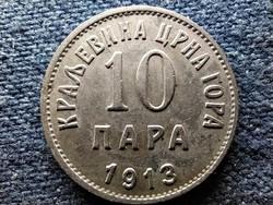 Montenegró I. Miklós (1860-1918) 10 para 1913 (id52292)