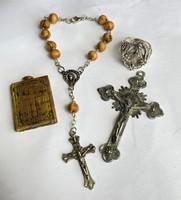 Kereszt, feszület, imalánc, medál és gyűrű