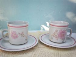 Mandarin Claudia Kávés kapucsínós bögre + tányér