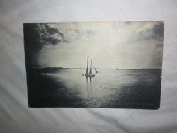 régi képeslap balaton