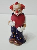 Goebel Happy Clowns - AUGUST - bohóc figura