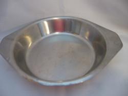 R & F inox tál, tányér