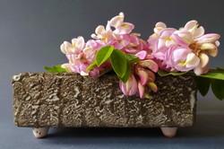 Mihály Béla iparművész ikebana virágtartó