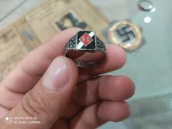 WW2. Világháborús Német náci ss gyűrű