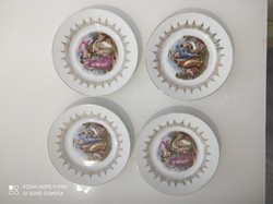 Zsolnay süteményes tányérok