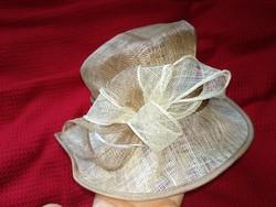 Vintage stílusú masnis kalap hibás női kiegészítő antique hat