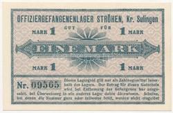 Német birodalom hadifogoly pénz / Tiszti hadifogoly tábor / RR