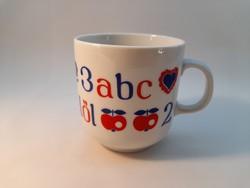 Alföldi porcelán ABC gyerekböge