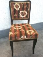 Rugós szék 4 db, Nappali szoba elemek, 60-as évek