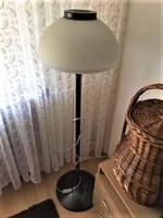 Iparművészeti bronz álló lámpa