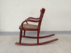 Antik Thonet hintázós THONET jelzéses gyerek szék hintaszék 4298