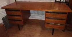 Vintage, Retro, Mid-Century íróasztal