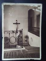 Nógrádverőce Migazzi-üdülőotthon: Lépcsőház Vintage Frankfurt Postatiszta Képeslap Pallas, Budapest