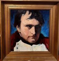 Sz. Habetler Márta - Napoleon portré