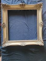 Aranyszínű blondel keret 47x46 cm