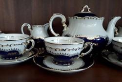 Keresek! Zsolnay, pompadur 1-es teás készletet.