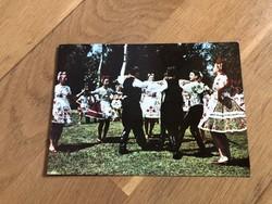 Kalocsai Népviselet képeslap