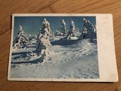 Kellemes karácsonyi ünnepeket - 1941 -es képeslap
