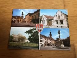 Sopron város képeslap