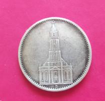 Német h.birodalmi 5 márka (1935 ezüst)