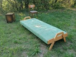 Retro Mid century design kanapé,heverő,ágy 60s évek ,nagyon jó dizájn!!!!!!