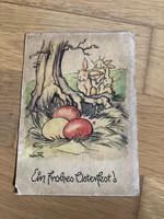 Kellemes húsvéti ünnepeket - 1946 -os képeslap