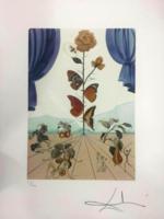 Dali világhírű alkotása - Akrobatika, pillangók