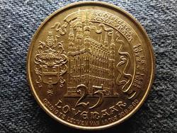 Belgium 25 lovenaar helyi zseton 1980 (id51947)