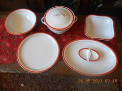 Zsolnay porcelán, MSZMP pártirodai tálaló készlet