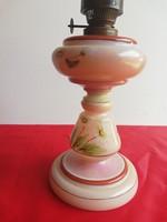 Szakított üveg petróleum lámpa