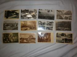 12db régi magyar képeslap