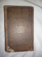 Antik pallas kis zseb naptár 1909