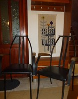 Bauhaus székek párban