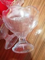 FAMILY FROST 400 ml üveg, fagylalt,  gyümölcs kehely, pohár 3 db.