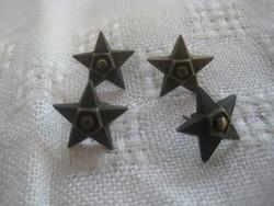 BM. rendőr  tiszti   bronz    gombok  4 db