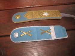 BM. rigi rang jelzések , őrnagy és  őrmester