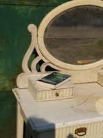 Szecessziós fésülködőasztal asztal