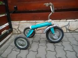 Háromkerekű gyermek pedálos  bicikli   régiség retró