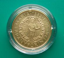 2014 – Mária aranyforintja 2000 Forint  BU emlékérme – Certivel, kapszulában